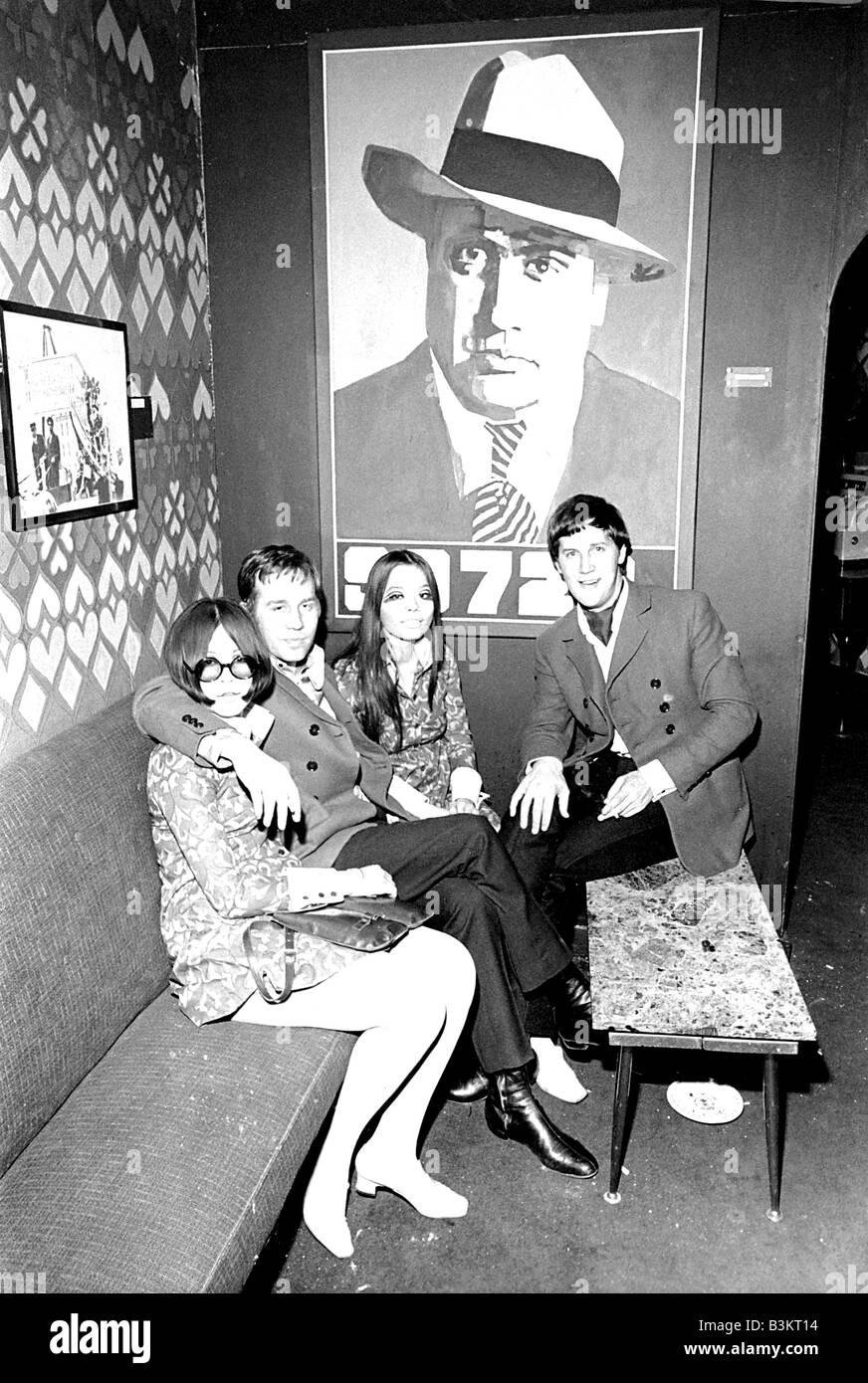 SPEAKEASY Pop Musik orientierte Club in 60er Jahren London Stockfoto