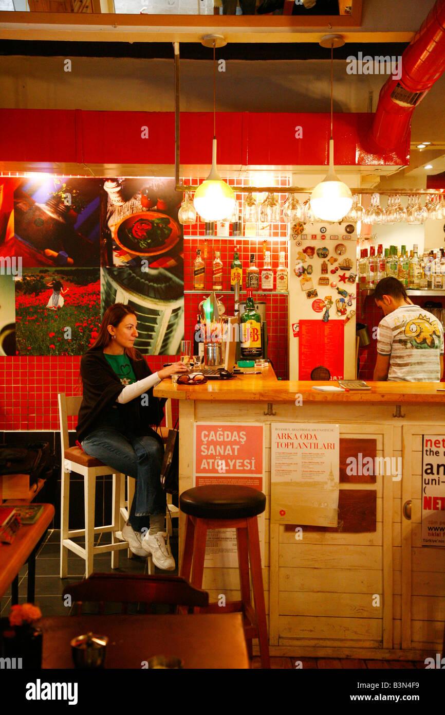 Blackjack cafe bar istanbul
