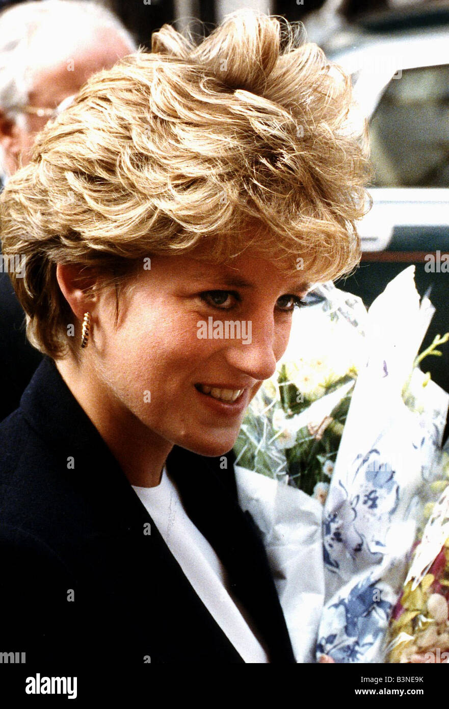 Prinzessin Diana Princess Of Wales Besuchen London