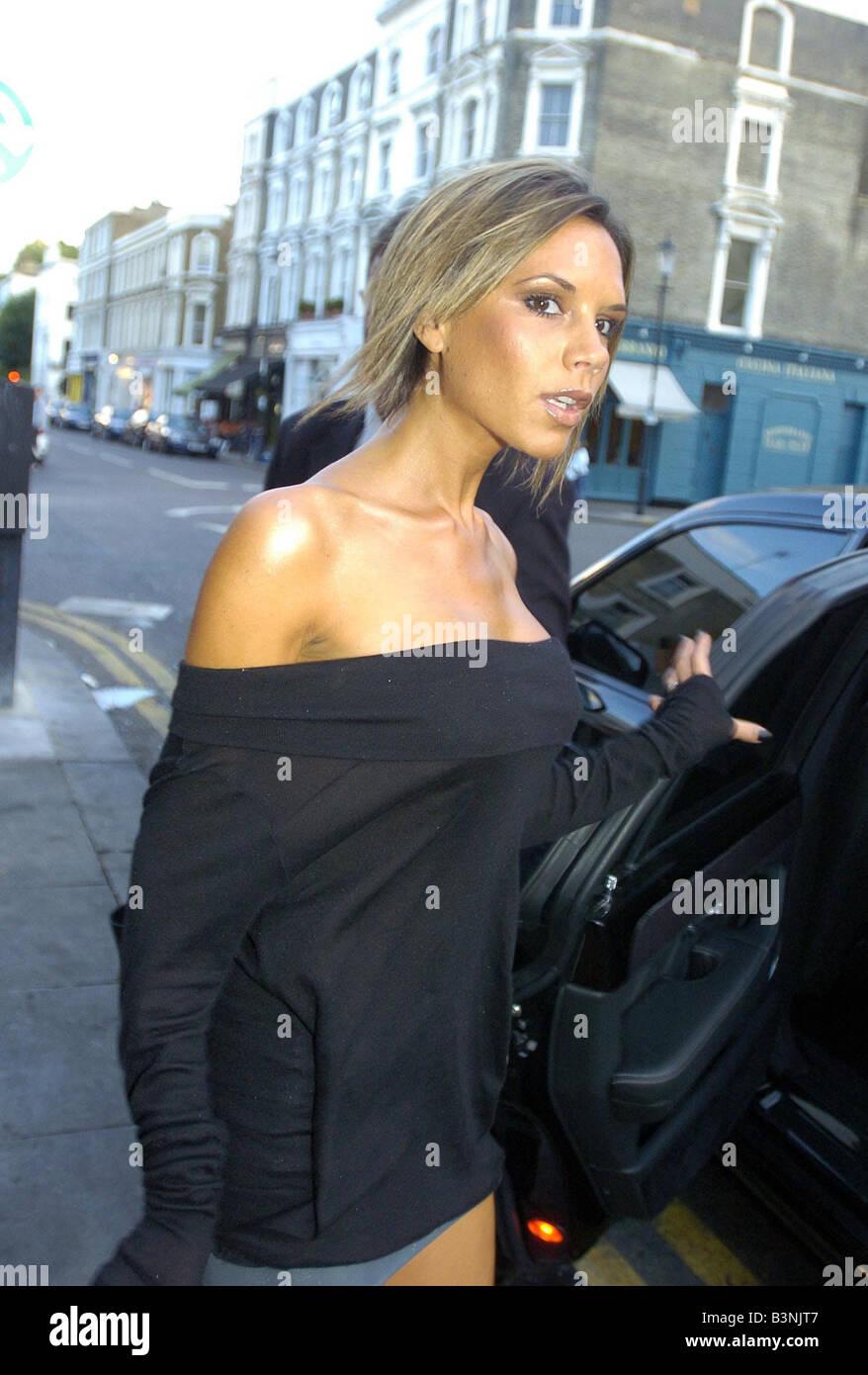 Victoria Beckham Zeigen Ihre Neue Frisur Ohne Die Erweiterungen