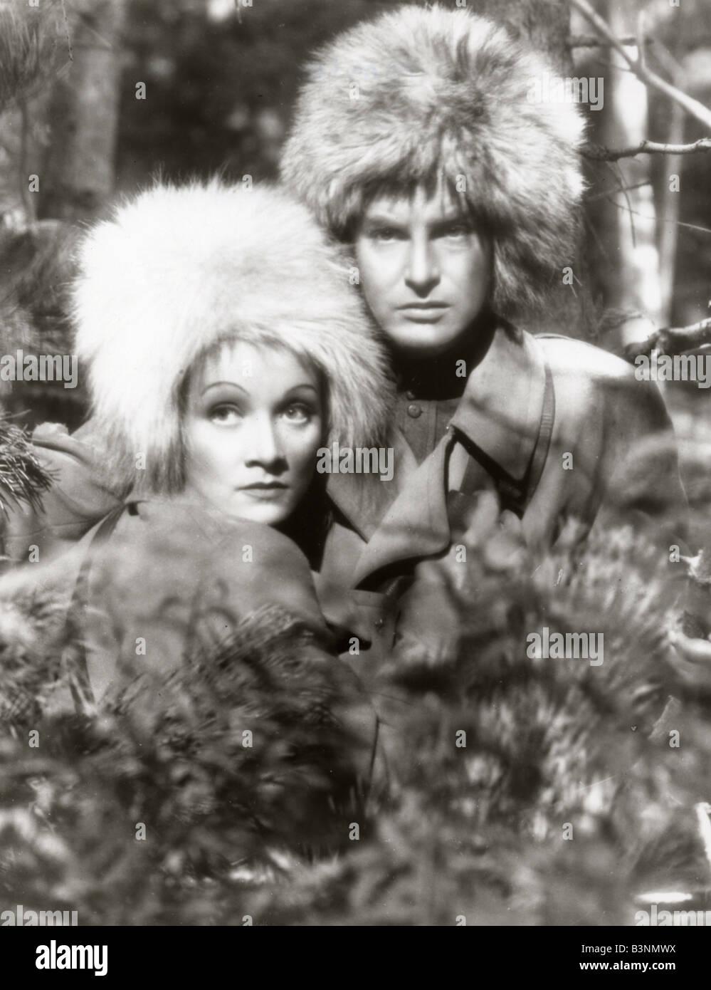 Ritter ohne Rüstung 1937 London Filme Film mit Robert Donat und Marlene Dietrich Stockbild