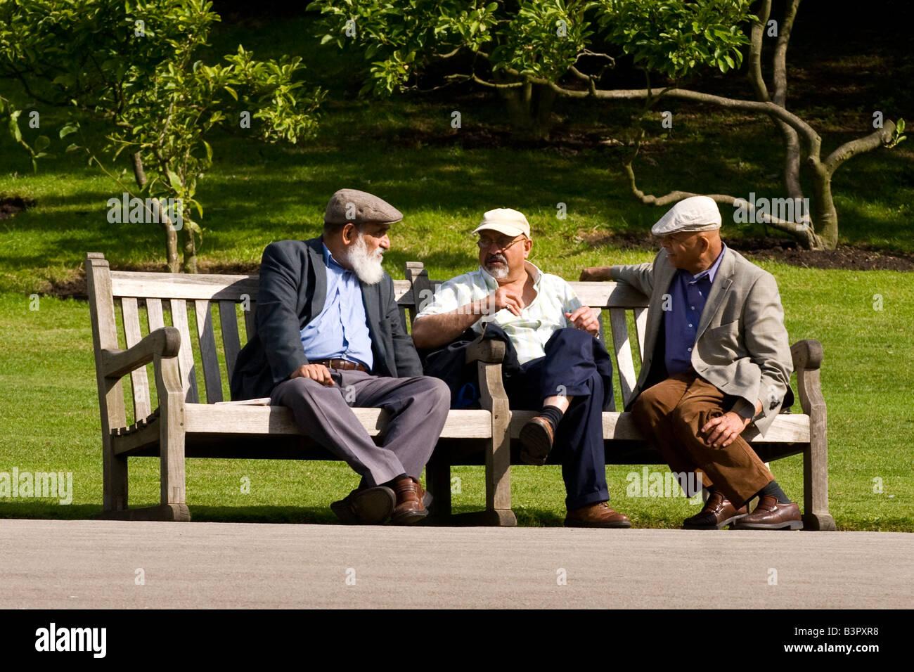 Regents Park Gardens, Schauplatz von drei sehr alte Männer