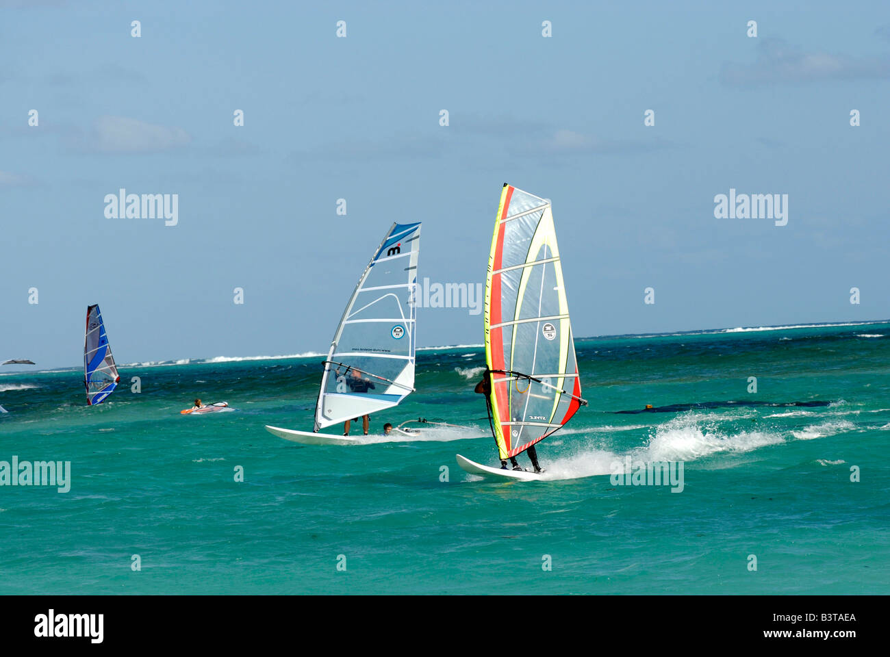 le morne Windsurfen