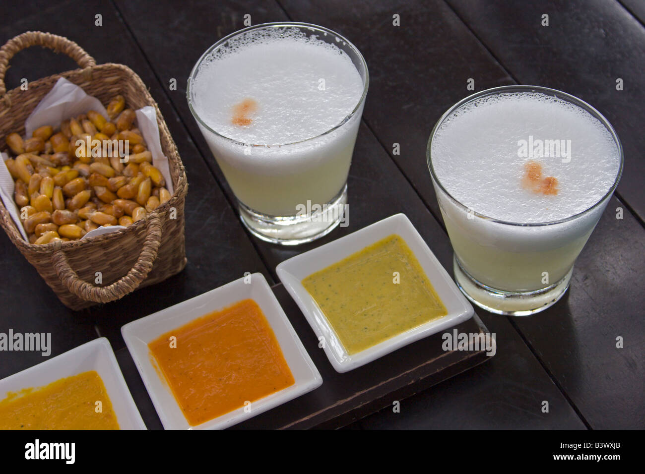 Pisco Sauer la mar Restaurant Lima Peru essen leckere exotische ...