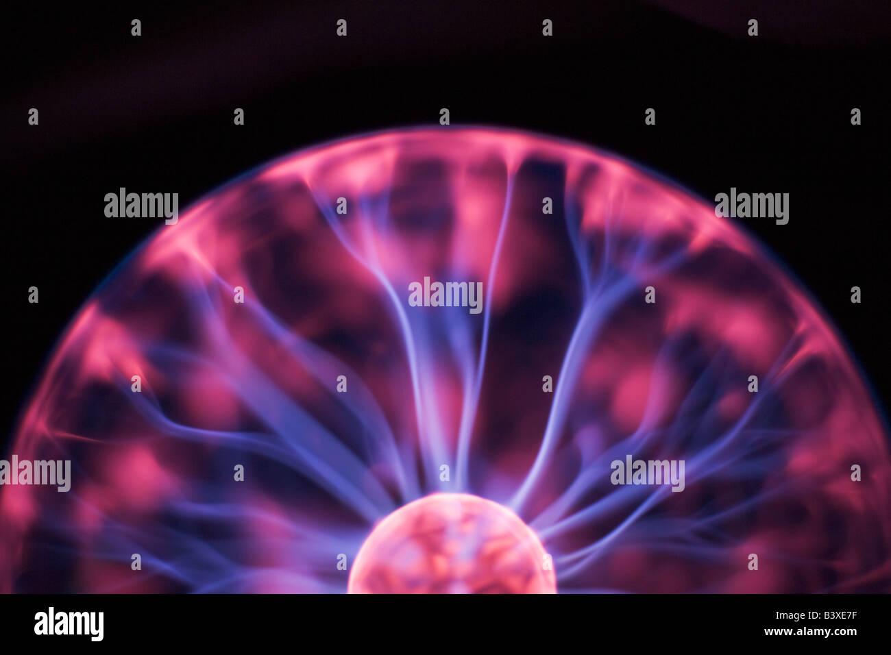 Plasma-Ball Stockbild