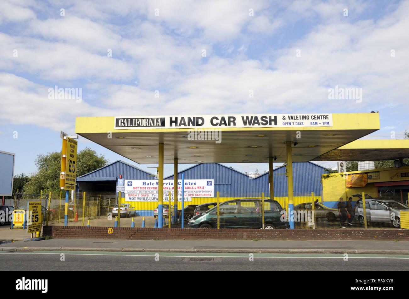 Hand Car Wash Stockfotos Hand Car Wash Bilder Alamy