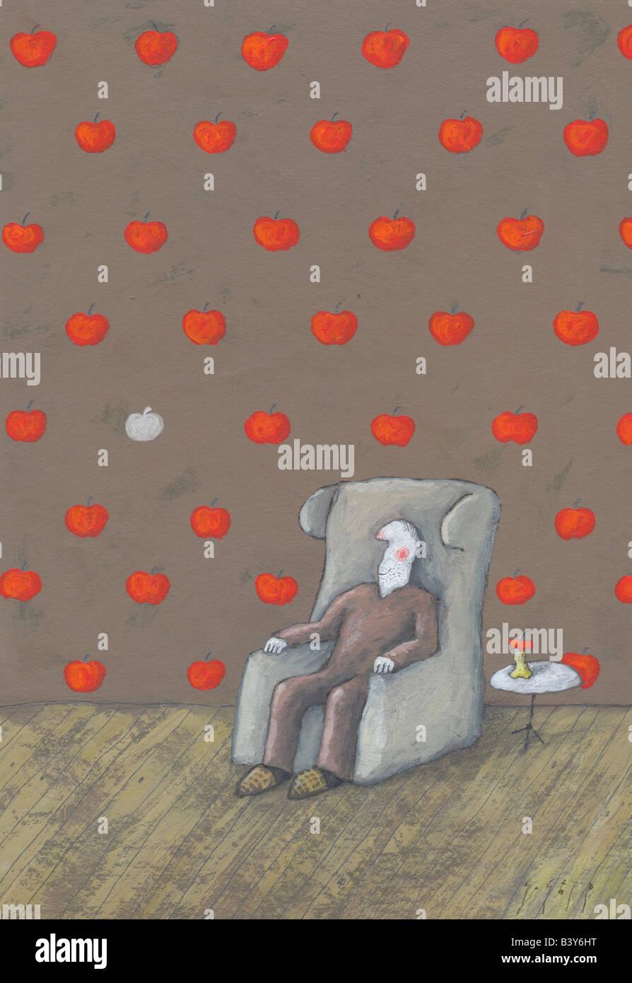 Apple Apfel Stockbild