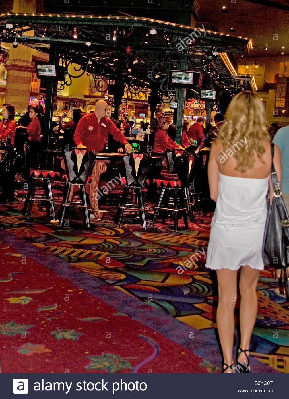 Einzelne Mädchen in Las Vegas