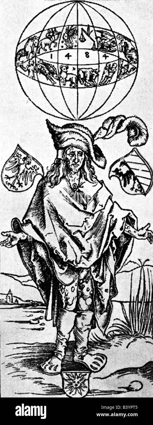 Medizin, sexuell übertragene Krankheit, Syphilis, syphilitische, Illustration von Albrecht Dürer von Syphilis Stockbild