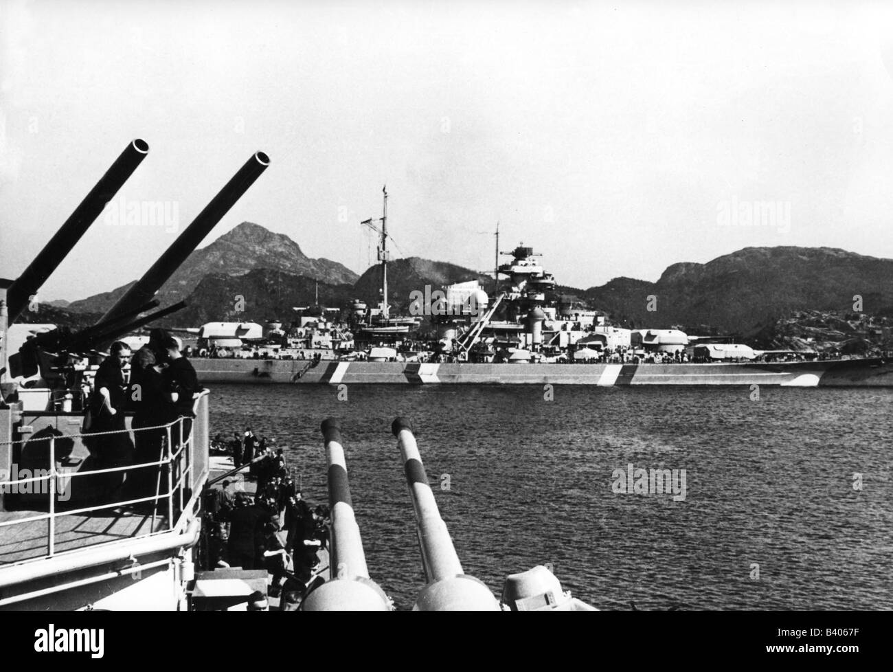 Bismarck Schlachtschiff Stockfotos Bismarck Schlachtschiff Bilder