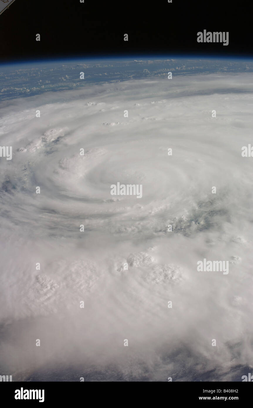 Hurrikan Ike, Texas und Louisiana, USA Stockbild