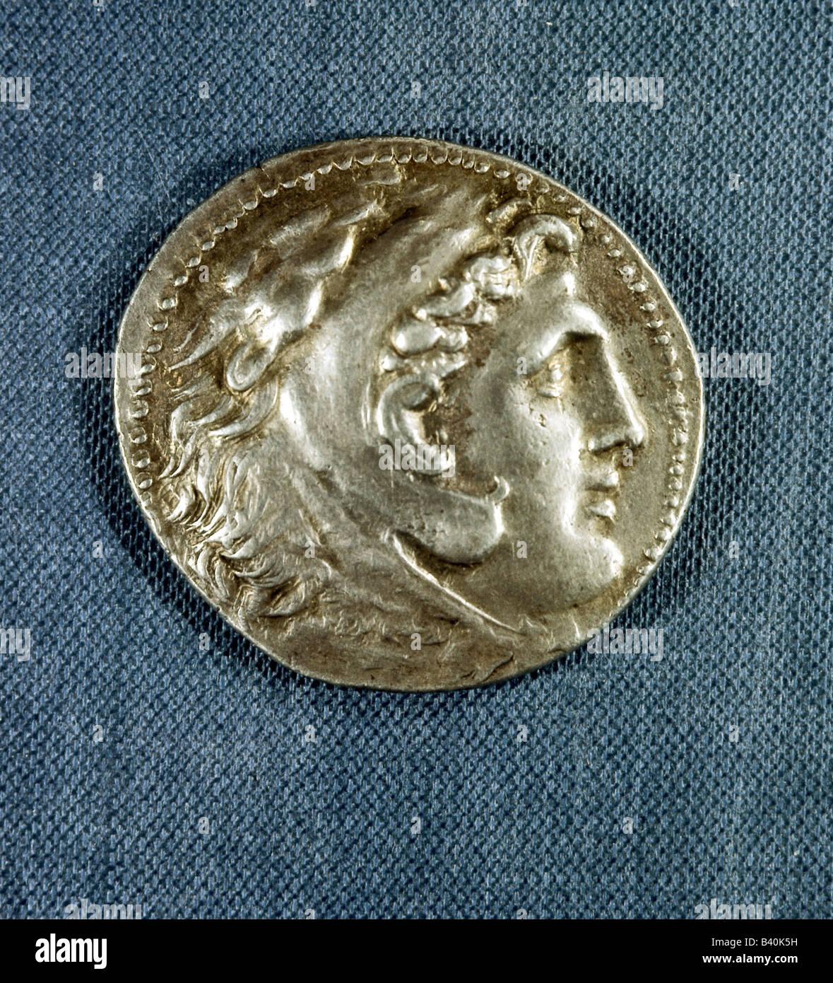 Alexander Iii Der Große 356 106323 Bc König Von Makedonien