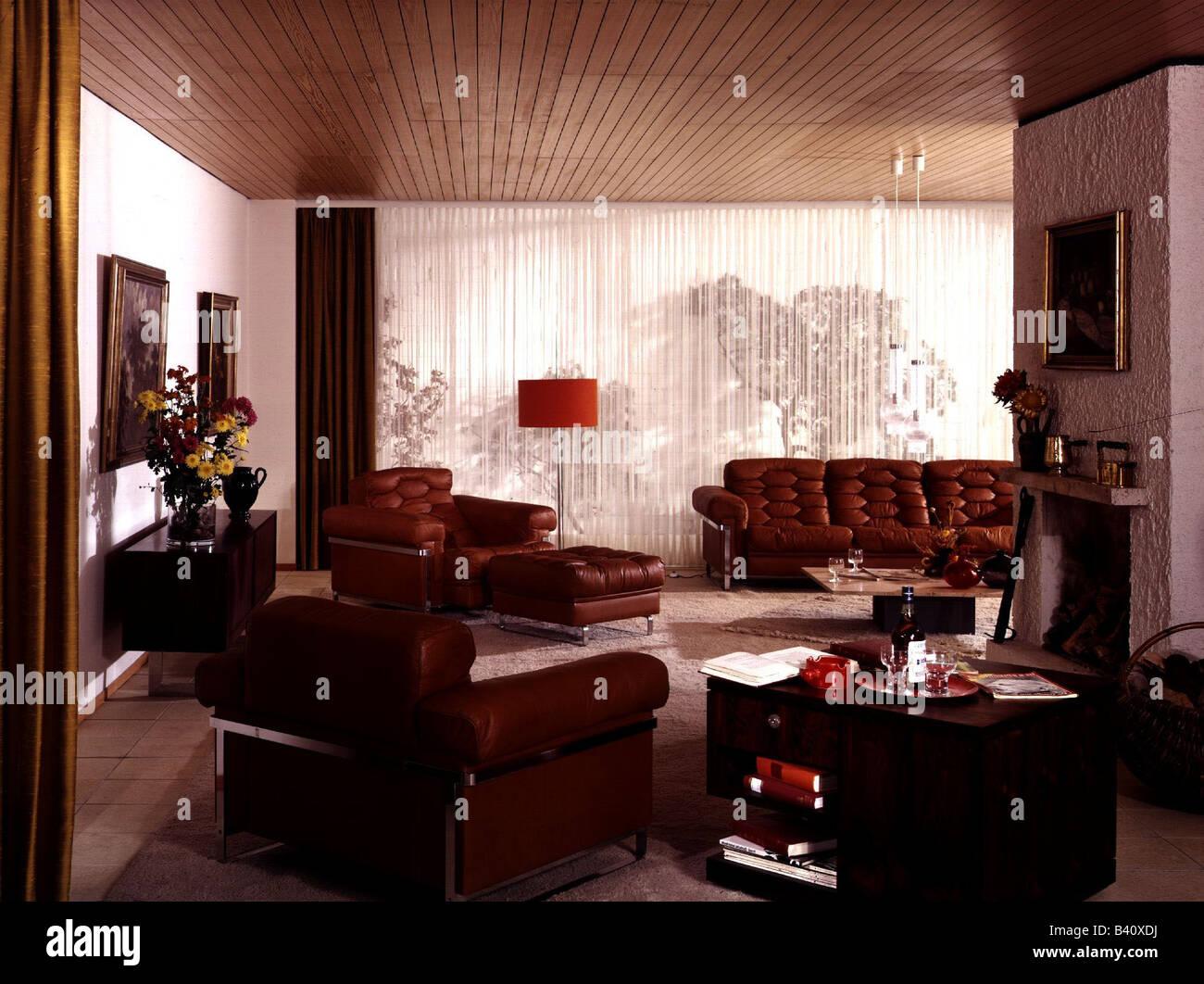 M bel wohnzimmer 1970er jahre 70er jahre historisch for 70 er jahre couch