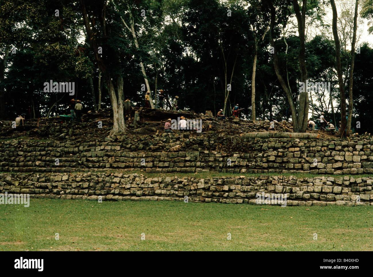 geographie reisen honduras copan maya stadt um 1000 v chr 9 jahrhundert ad terrassen. Black Bedroom Furniture Sets. Home Design Ideas