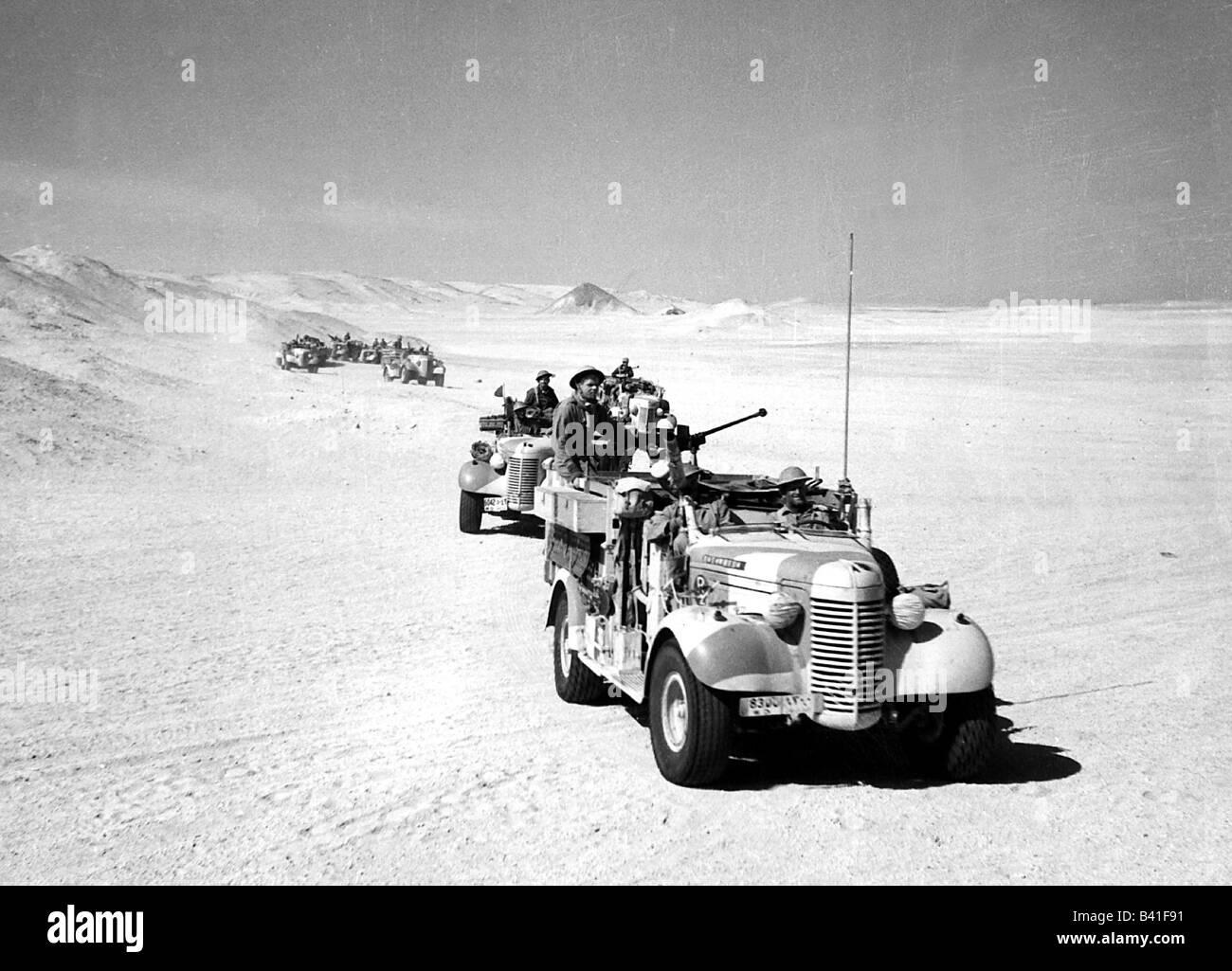 Veranstaltungen Zweiten Weltkrieg Wwii Nordafrika Patrouille Der