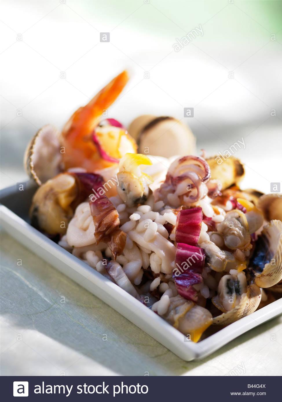 Essen-risotto Stockbild