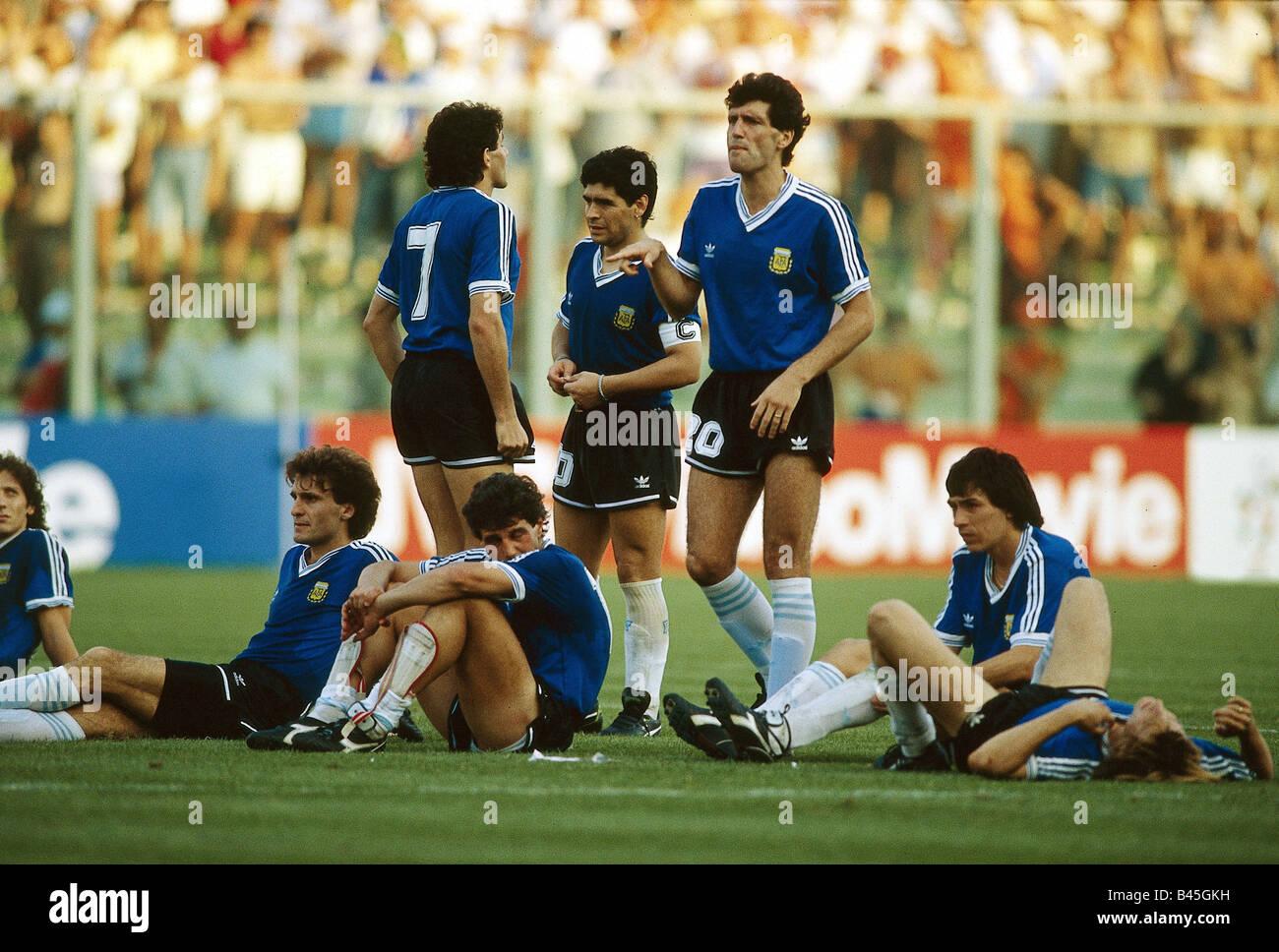 Sport Sport Fussball Fussball Wm 1990 Endrunde