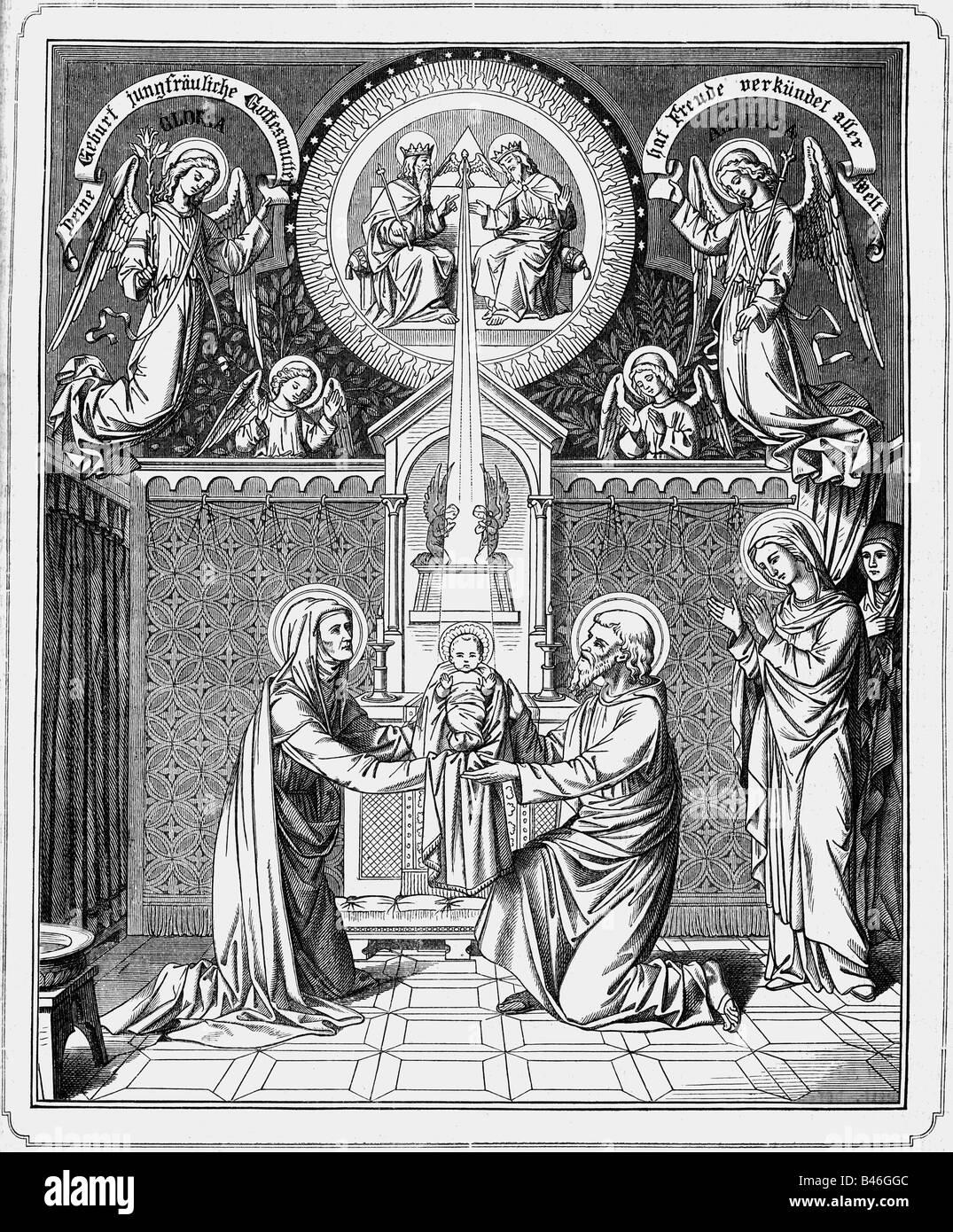 Wer ist Jesus Vater und Mutter
