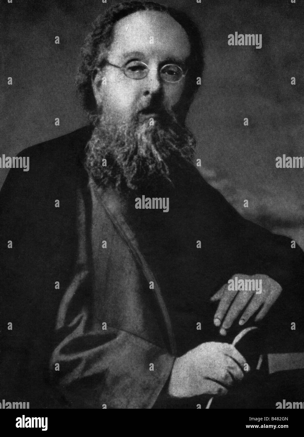 Tsiolkovsky, Konstantin Eduardovich, 17.9.1857 - 19.9.1935, russischer Wissenschaftler (Physiker, Mathematikwissenschaftler), Stockfoto