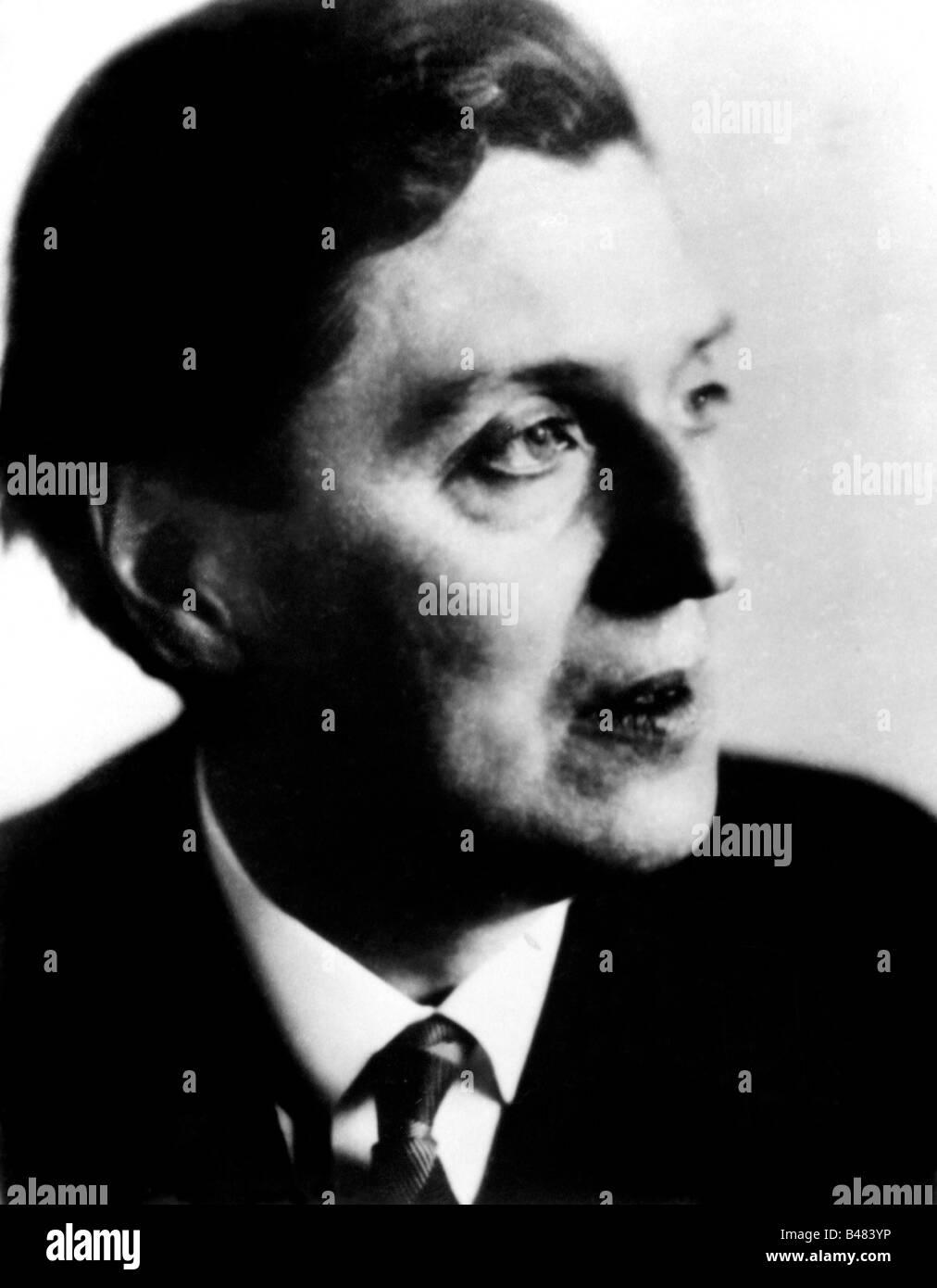 Berg, Alban, 9.2.1885 - 24.12. 1935, Österreichischer Komponist, Porträt,, Additional-Rights-Spiel-NA Stockbild