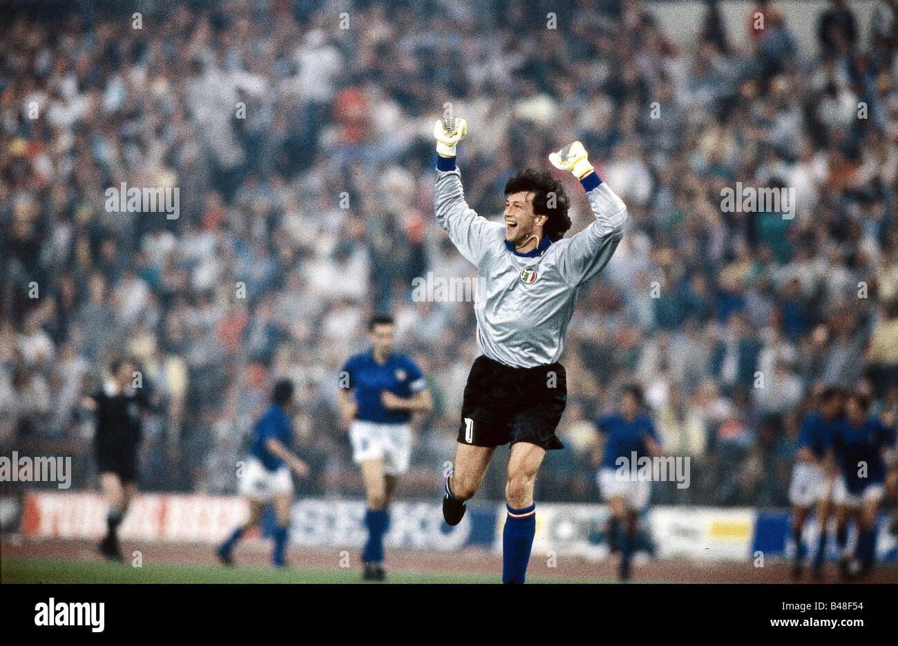 Sport / Sport, Fußball, Fußball, Em, EURO 1988, Deutschland gegen Italien (1:1) in Düsseldorf, 10.6.1988, Stockbild