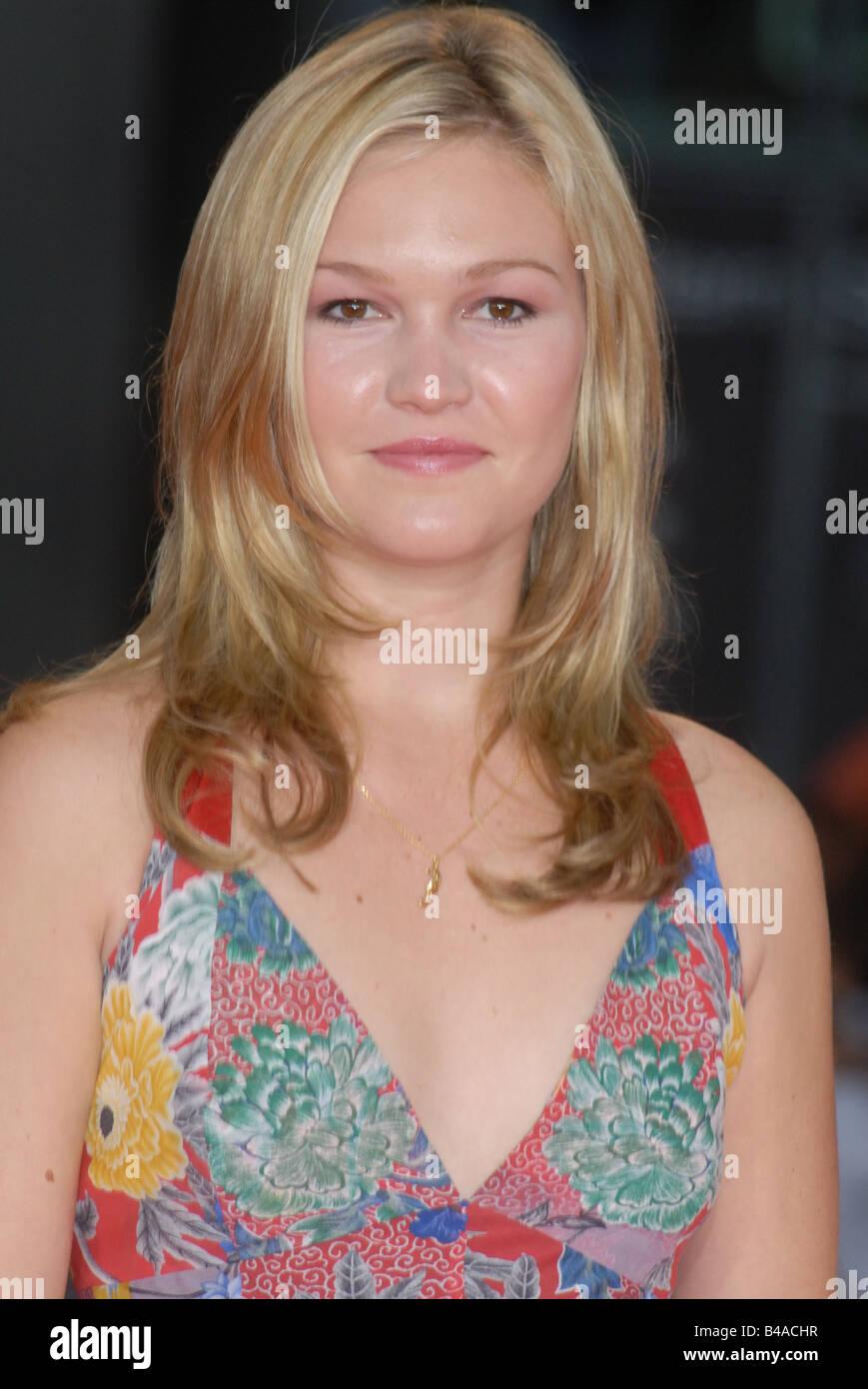 """Stiles, Julia, * 28.03.1981, US-amerikanische Schauspielerin, Porträt, Auf der Premiere von """"The Bourne Stockbild"""