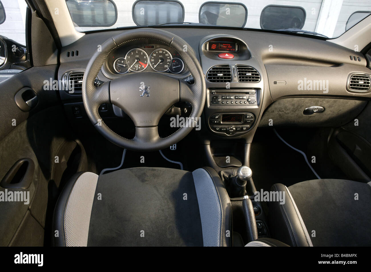 Peugeot 206 RC, Limousine, Auto, kleine ca., Modell Jahr 2003-Silber ...