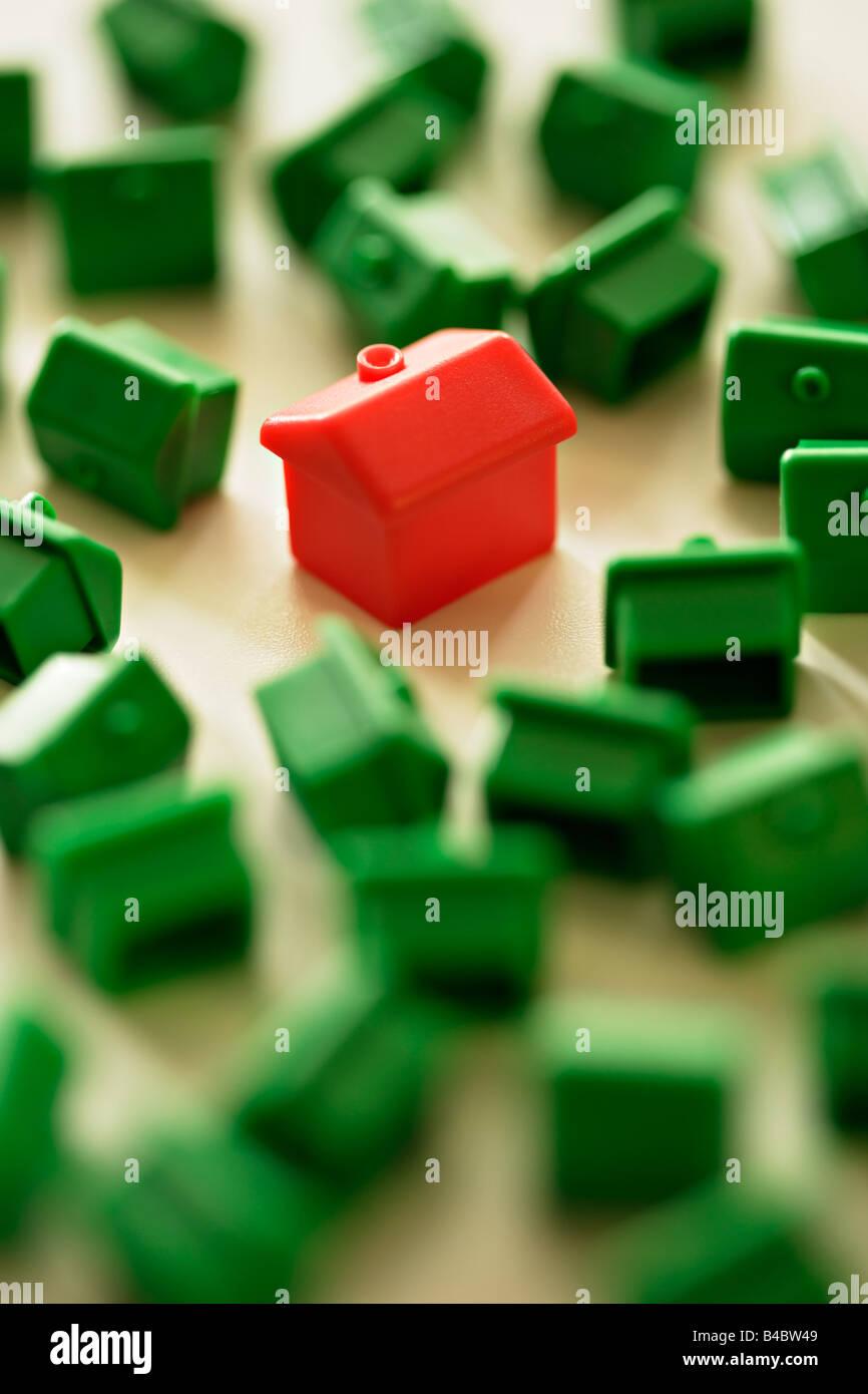 Monopoly Brettspiel Stockbild