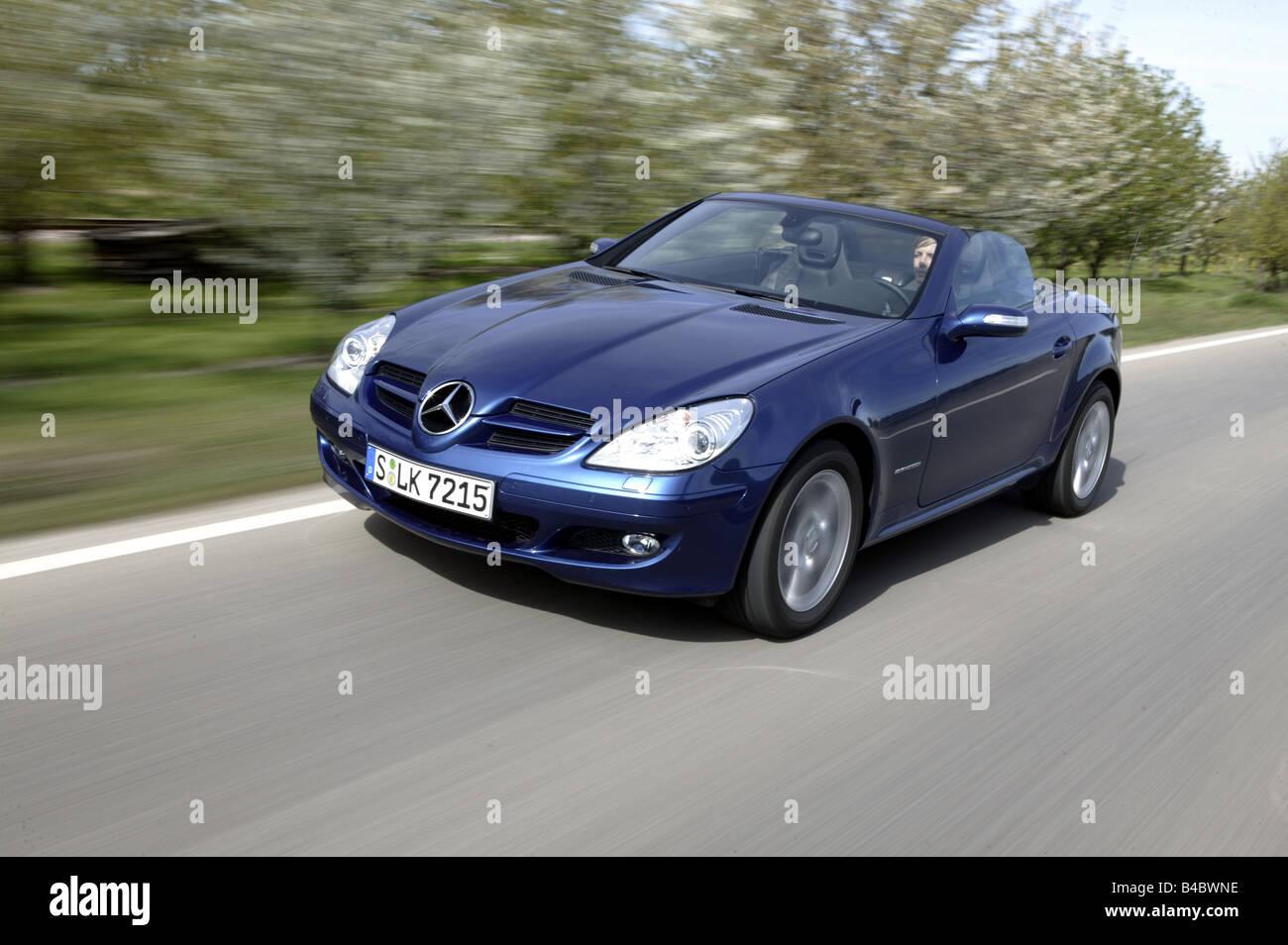 auto mercedes slk 200 kompressor cabrio modell jahr. Black Bedroom Furniture Sets. Home Design Ideas