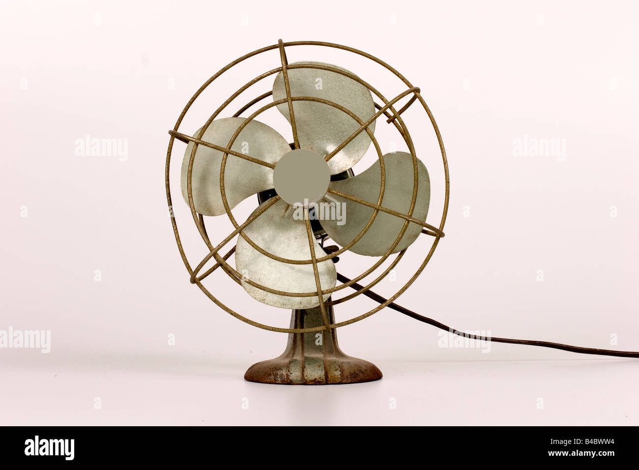 Elektrischer Ventilator Stockbild