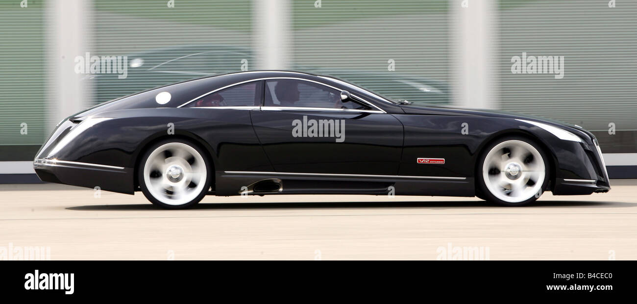 auto, maybach exelero fulda coupe/coupe, modell jahr 2005-, schwarz