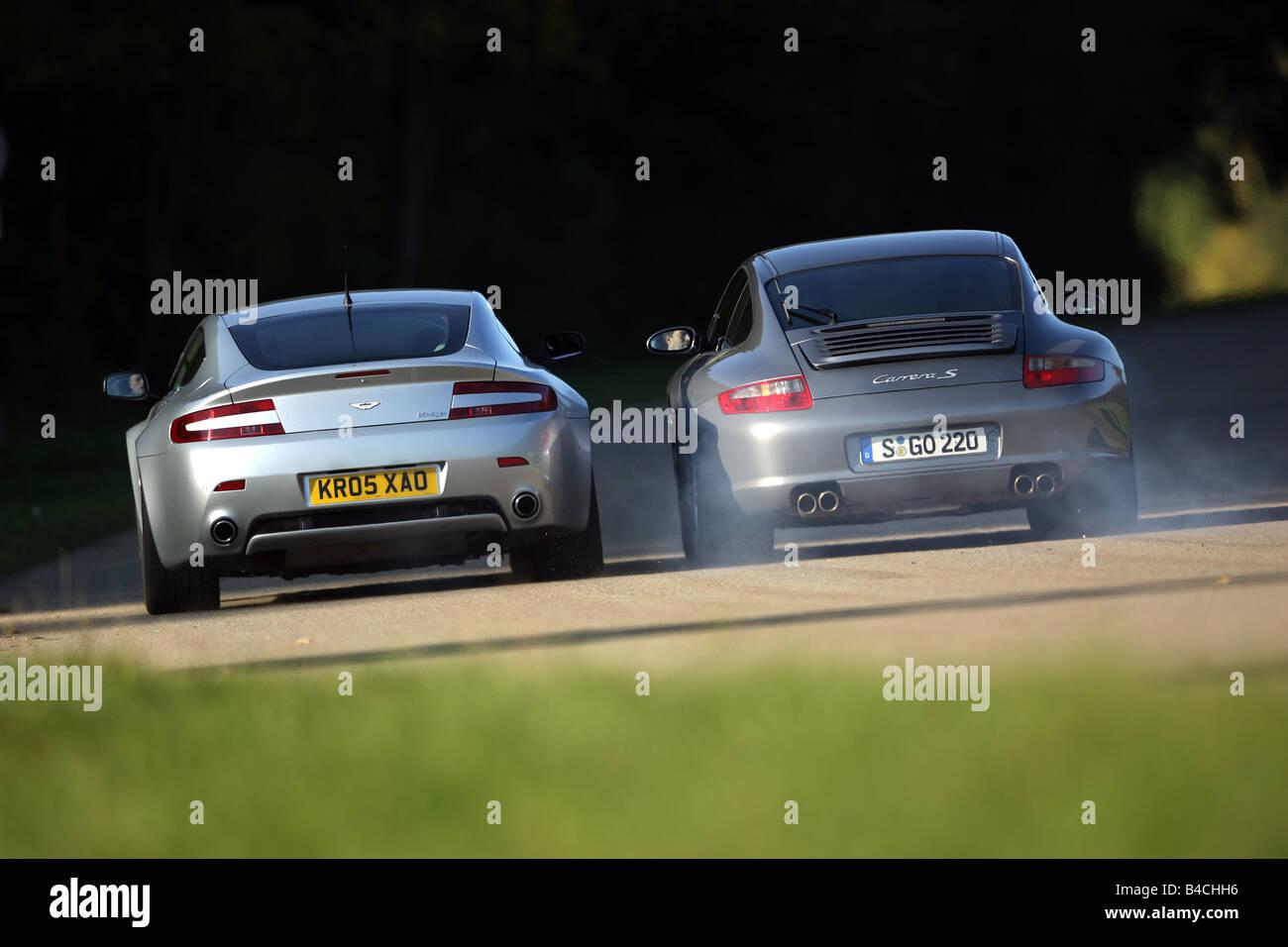 Aston Martin V8 Vantage Sports Stockfotos Und Bilder Kaufen Alamy