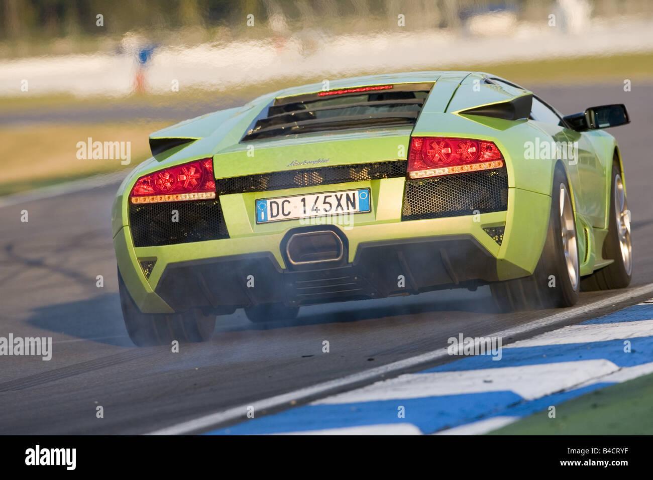 Lamborghini Murcielago Hinten Stockfotos Lamborghini Murcielago