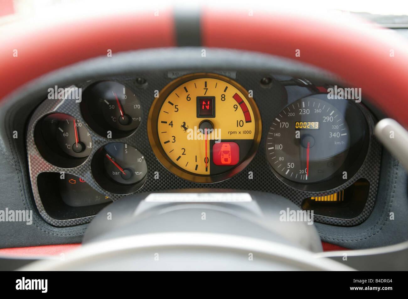 Auto, Ferrari 360 Challenge Stradale, Modelljahr 2003-Roadster ...