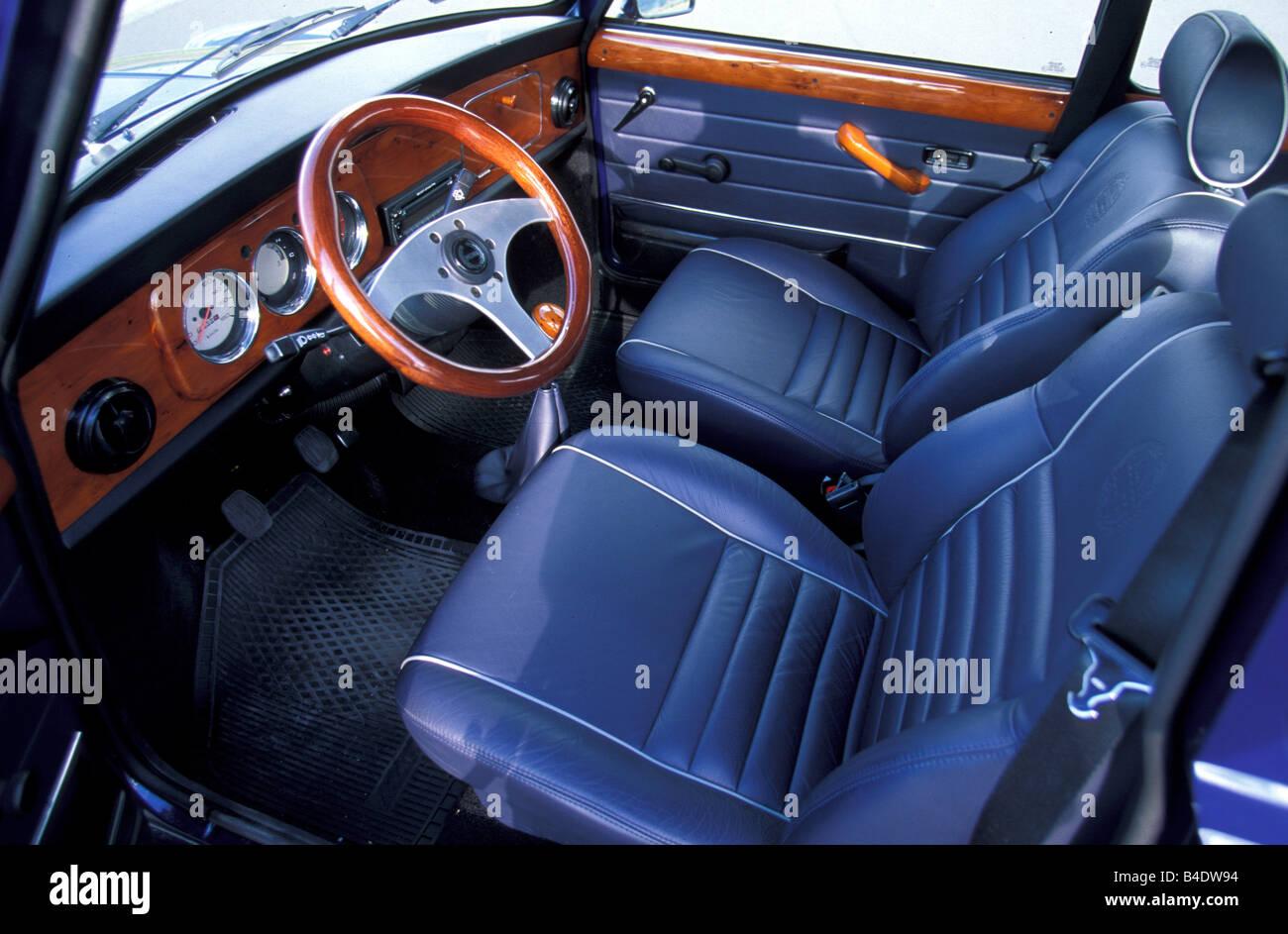 Miniapprox.s, Modell Jahr 1992-2002, blau, Interieur, Limousine ...