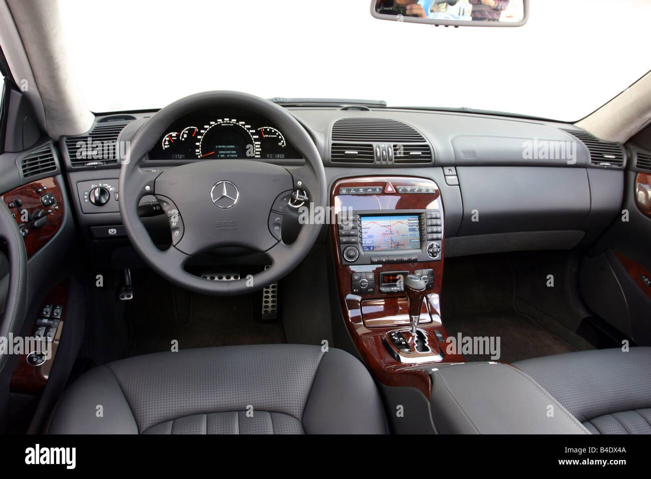 Auto cockpit mercedes  Auto, Mercedes CL 65 AMG, Baujahr 2003, Silber, Limousine, innere ...