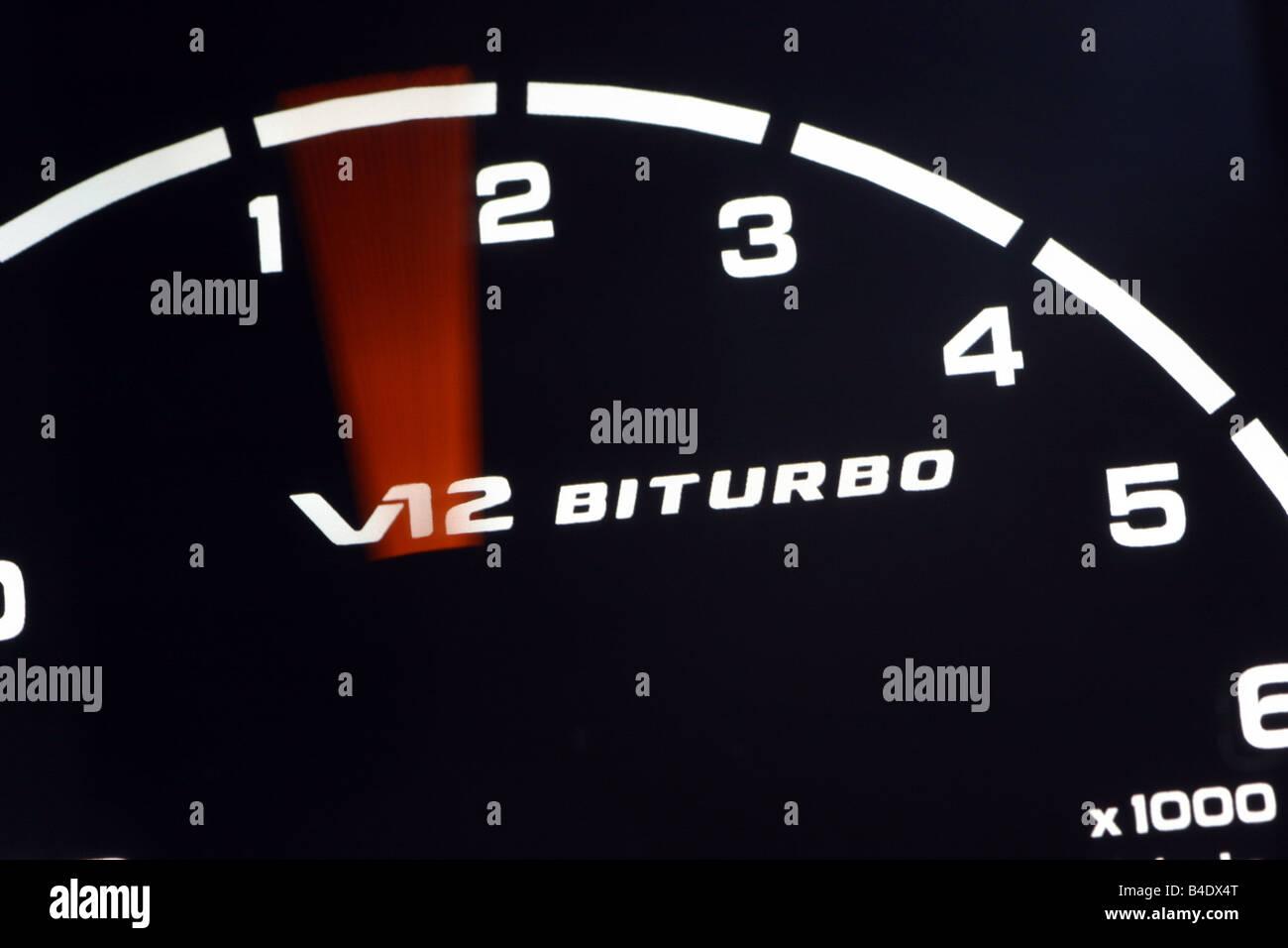 Auto, Mercedes CL 65 AMG, Baujahr 2003, Silber, Limousine ...