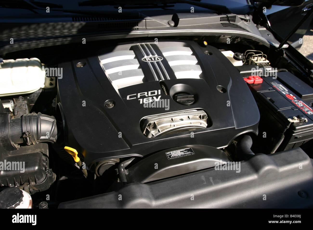 Auto, Kia Sorento, Langlauf Fahrzeug Modelljahr 2002-, schwarz ...