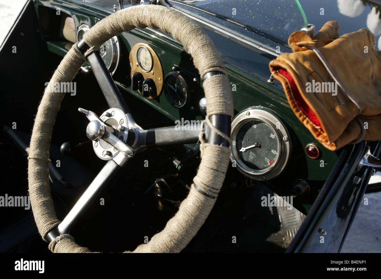 Auto, Oldtimer, Detail, details, Cockpit, Lenkrad, Technik ...