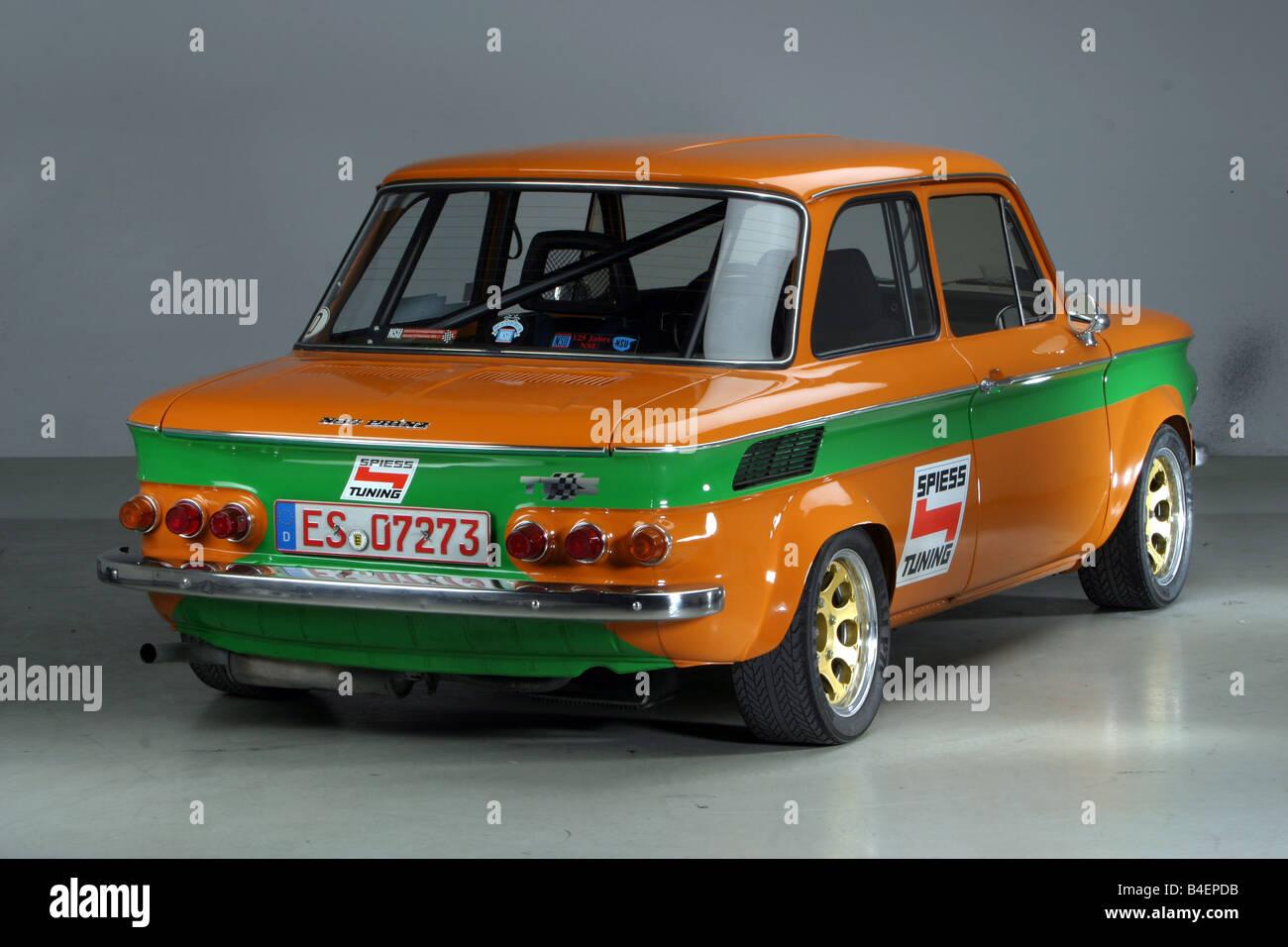 auto nsu prinz baujahr ca 1967 1971 orange oldtimer. Black Bedroom Furniture Sets. Home Design Ideas