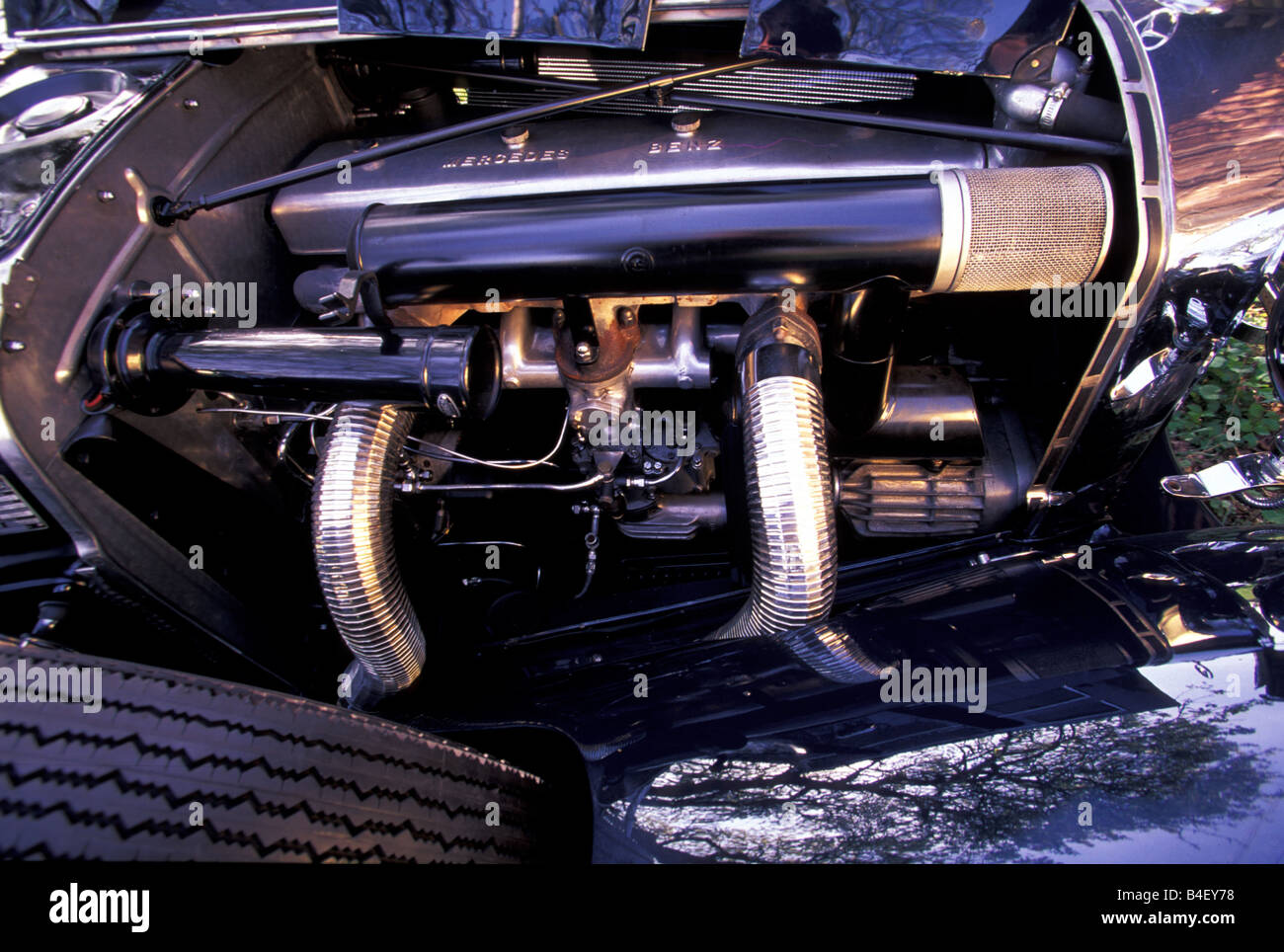 Auto, Mercedes 540 K Roadster, Oldtimer, 1930er Jahre, dreißiger ...