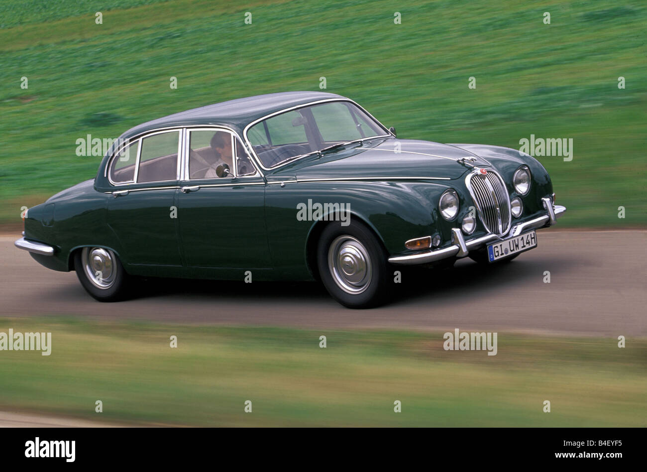 jaguar s type 3 4 auto oldtimer 1960er jahre sechziger. Black Bedroom Furniture Sets. Home Design Ideas