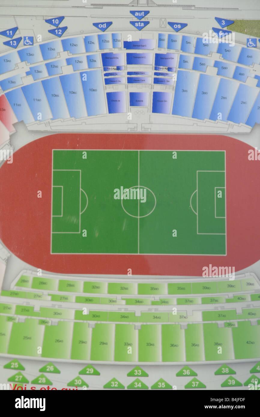 Sport Stadium Seating Plan Stockfotos Und Bilder Kaufen Alamy