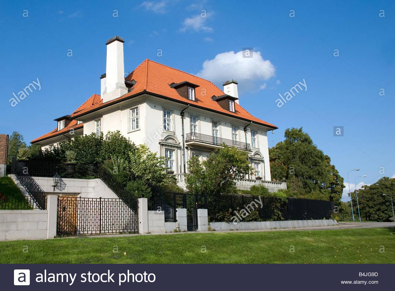 Villa stockfotos villa bilder alamy for Villa elegante