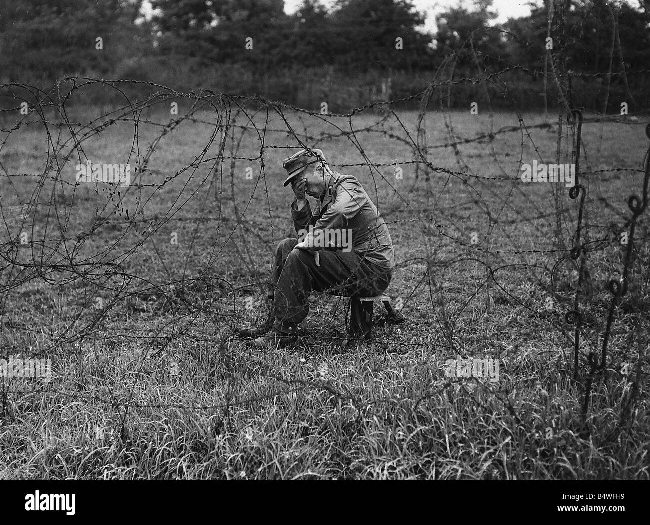 German Pow World War Ii Stockfotos & German Pow World War Ii Bilder ...