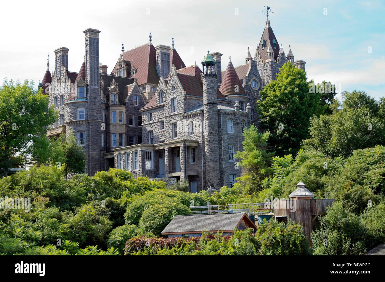 Boldt Castle In Der 1000 Inseln Im St Lawrence River In