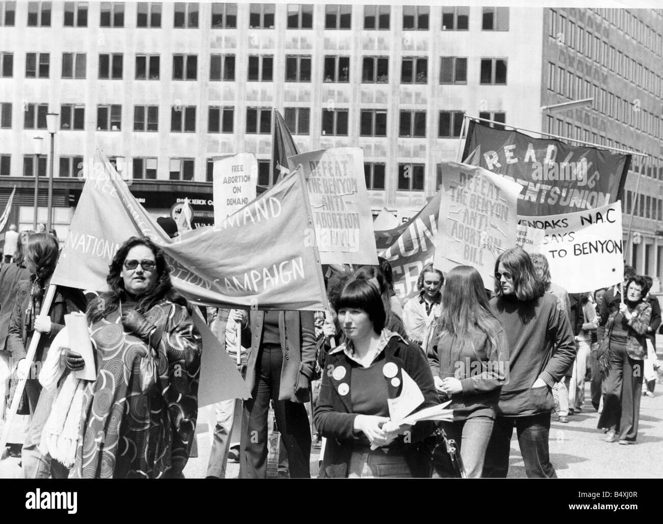 1970s Protest Stockfotos & 1970s Protest Bilder - Alamy