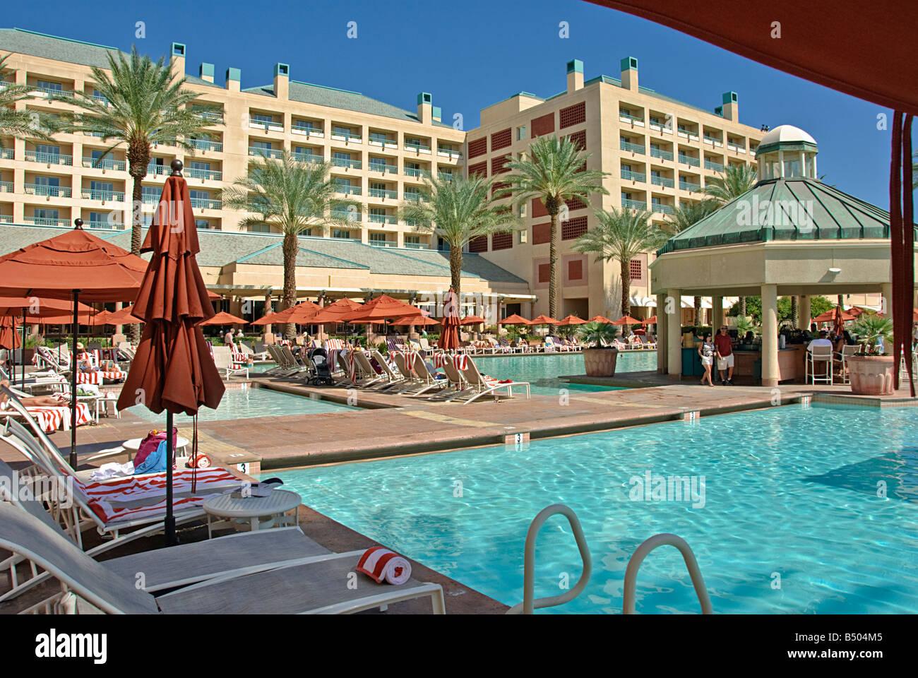 Renaissance Esmeralda Indian Wells Moderne Luxus Resort In Der Nähe Von  Palm Desert Palm Springs Ca üppigen Garten Herrliche Pools