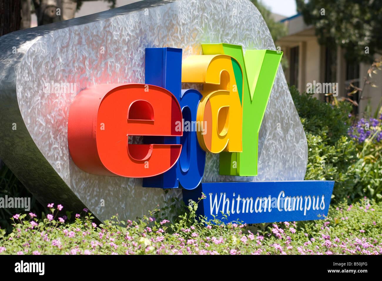 Ebay Zeichen Whitman Campus Ebay Hauptsitz San Jose Kalifornien