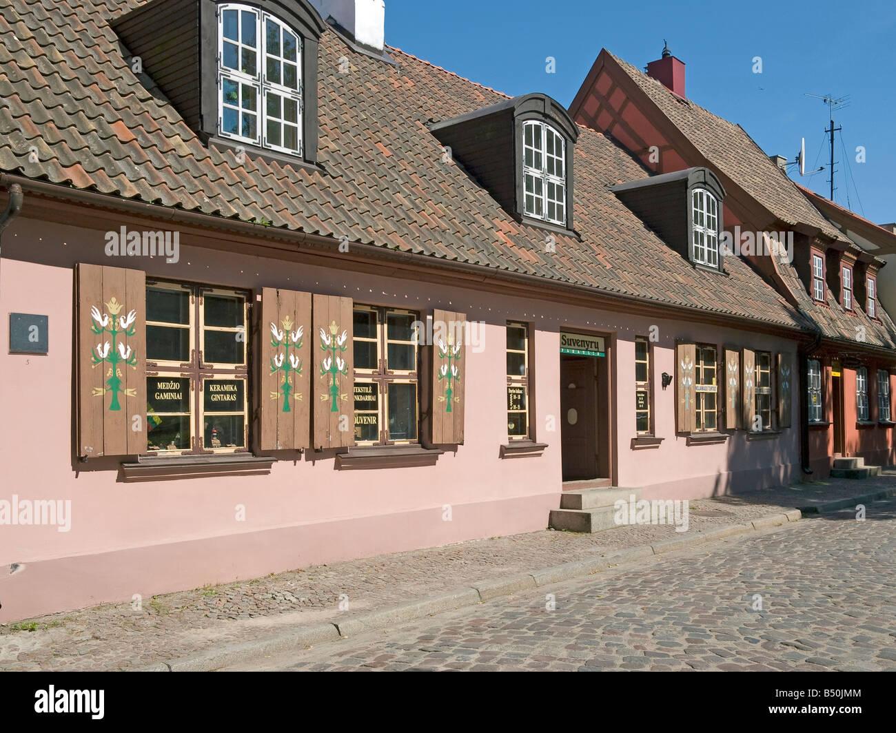 Thouse mit fenster keramik shop eigenen klaipeda im bezirk for Fenster shop